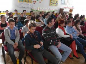 A hallgatóság és a versenyzők